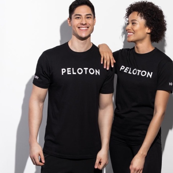 Peloton Century Ride Shirt Unisex size Large Black